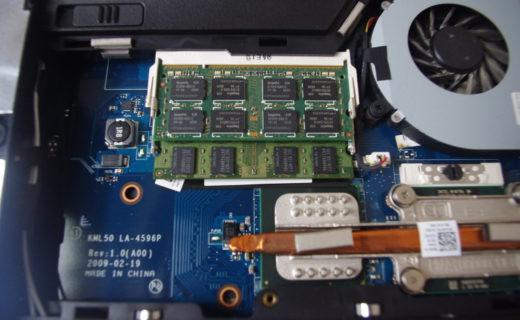 パソコン メモリ 写真